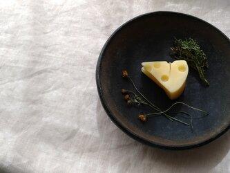 蜜蝋キャンドル cheese チーズ 2個セットの画像