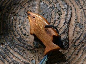 真の屋久杉ペンダント。樹齢千年以上。の画像