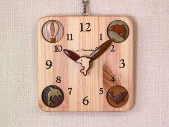 角時計17cm 幸運の使者イルカの画像