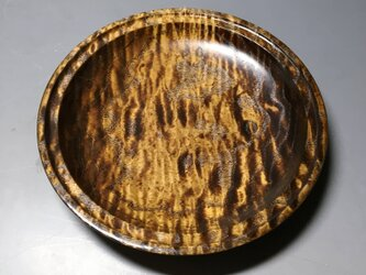 タモ玉杢蘇芳染 ガラスコート仕上げの画像