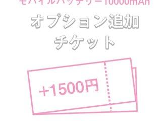 モバイルバッテリー 10000mAh オプションの画像
