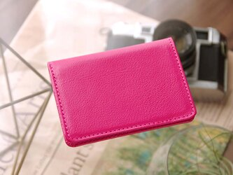 《CHLOE》◇2つ折りパスケース(定期入れ・カードケース)◇ピンク◇の画像