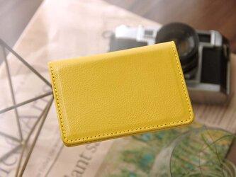 《CHLOE》◇2つ折りパスケース(定期入れ・カードケース)◇イエロー◇の画像