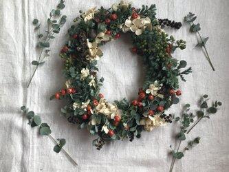 Christmas wreathの画像