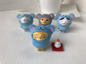 今年こそ干支になりたい猫さん2019黄トラの画像