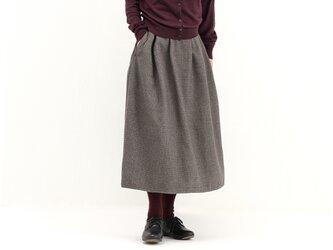 タックギャザースカート(千鳥)#281の画像