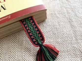 カード織りブックマーク ::climbing rose::の画像