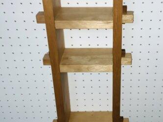 木製吊り棚の画像