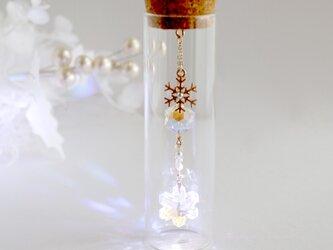 雪の結晶 置き型サンキャッチャー  Swarovski crystalの画像