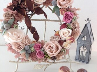 pre-flower wreath20-1♡ (sample) の画像