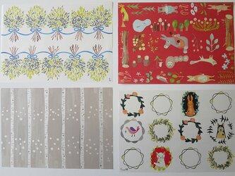 A4サイズ 包装紙/ラッピングペーパー *全18種類×2枚ずつ 36枚入り*の画像