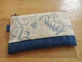 更紗を楽しむミニポーチ(弐)の画像