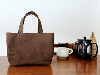 【受注製作】コーヒー 浜松産帆布使用トートSの画像