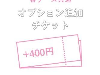 各ケース共通 +400円追加オプションの画像