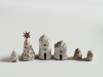 フクロウとこびとの家のクリスマス 02の画像