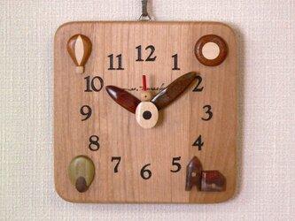 角時計17cm  希望の画像