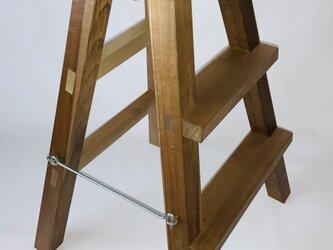 木製脚立の画像