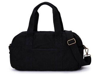 【0013黒】2way 旅行バッグ ファスナー付きトートバッグ  ショルダーバッグ 大容量 男女兼用の画像