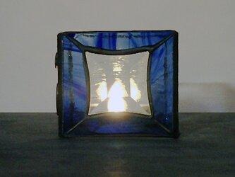 ステンドグラス キャンドルホルダー1の画像