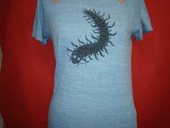ムカデTシャツの画像