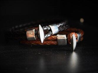 Leather bracelet LB-2の画像