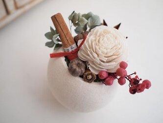 ホワイトカップアレンジ*fruits blancsの画像