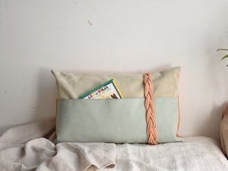 Reading Pocket Pilow (mint&)の画像