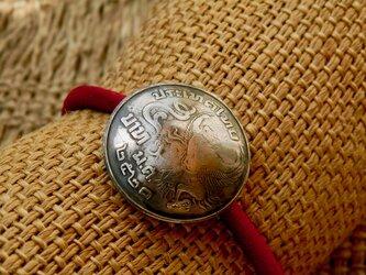 #H116 Kingdom of Thailand Coin Hair Elasticの画像