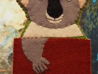 コアラ  パスケースの画像