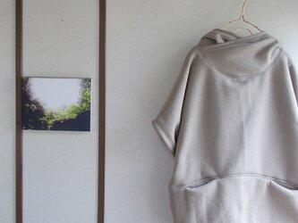 暖かポッケ付きパーカープルオーバーの画像