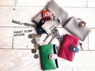 ▲POCKET ポップもダークも自分好みを作る「ポケットプランプ キーケース」小銭もカードもOK(PPK-CUSTOM)の画像