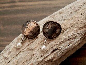 #E18 USA coin  Earringsの画像