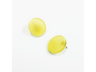 3色から選ぶ[片耳用イヤリング]草木染め大丸/E-6_LR_PDの画像