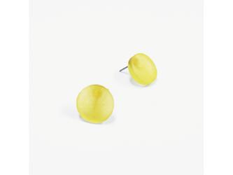3色から選ぶ[片耳用ピアス]草木染め小丸/E-6_SR_PDの画像