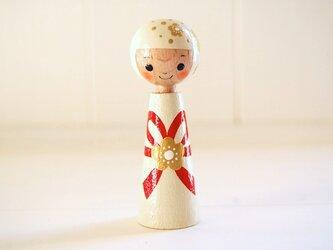 [conocokeshi]指人形・hand puppet[59]結びちゃん*祝*の画像