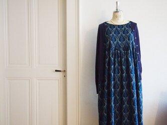 2019A/W Liberty: Blue belle(ブルーベル) デイリーワンピースの画像