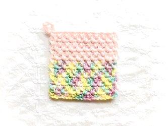 かぎ針編みのコースター (13)の画像