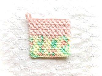 かぎ針編みのコースター (14)の画像