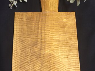 【ciquciqu様オーダー品】自由な形のカッティングボード <山桜>の画像