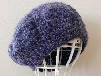 Sold out‼️モヘアのまぁるいニット帽の画像