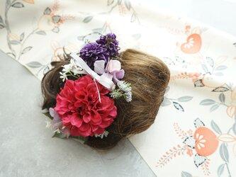 和装髪飾り HW#2の画像