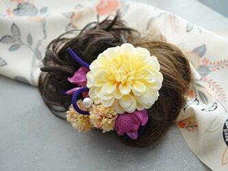 和装髪飾り HW#1の画像