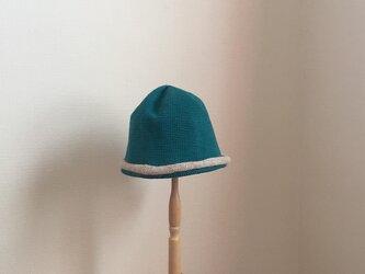 ニット帽 のっぽとベビーアルパカ  の画像