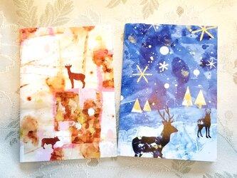 北欧風ノート3冬と秋のセットの画像