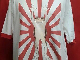 カエル Tシャツの画像