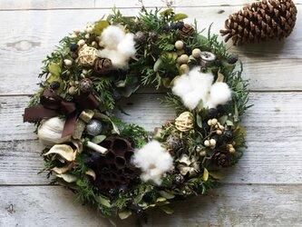 Christmas wreath!AtelierKouanの画像