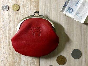 がま口財布  [馬]の画像
