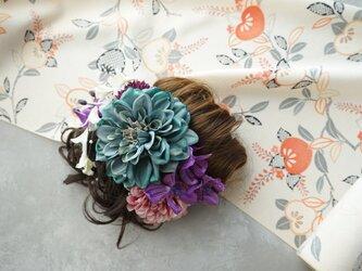 和装髪飾り HW#4の画像