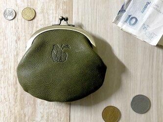 がま口財布  [ゴリラ]の画像