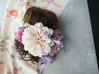 和装髪飾り HW#5の画像